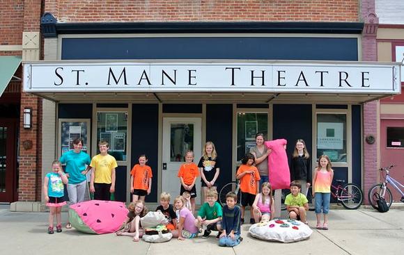 Lanesboro Art Center's St. Mane Theater in Lanesboro, MN.